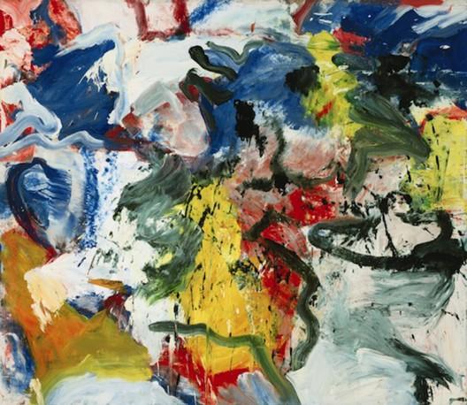 Rare Untitled V by Willem de Kooning at Sotheby's New York