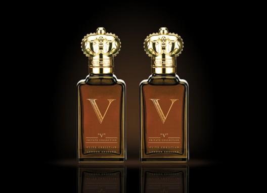 Clive Christian's 'V' fragrance for men and women bottled with British elegance