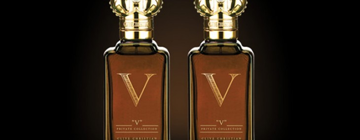 Clive Christian's 'V' fragrance for men and women bottled with British elegance