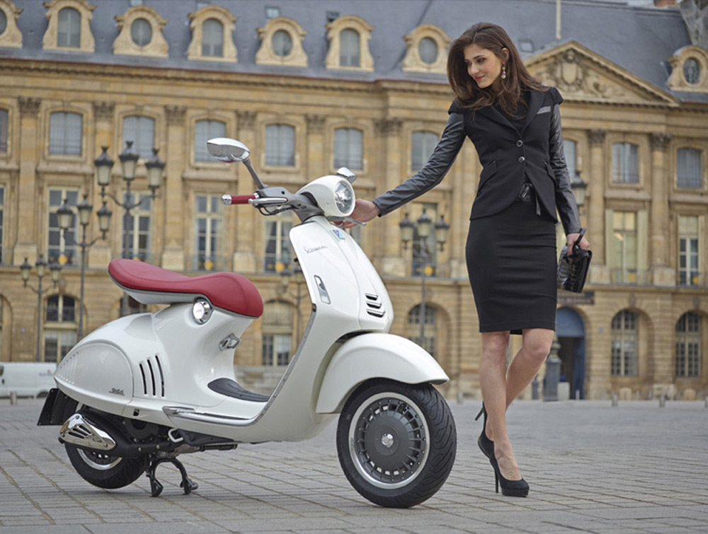 New Luxury Vespa 946 One Of The Most Radical Scooters