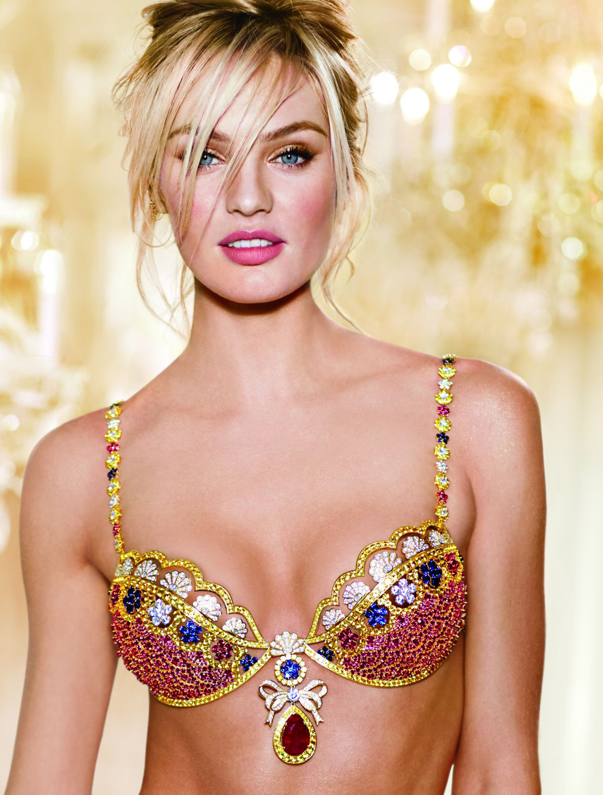 Candice Swanepoel to Parade in $10 million Fantasy Bra At ...