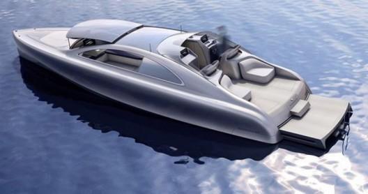 Arrow460 Quattroporte, and the boat itself is described as a, silver sea arrow