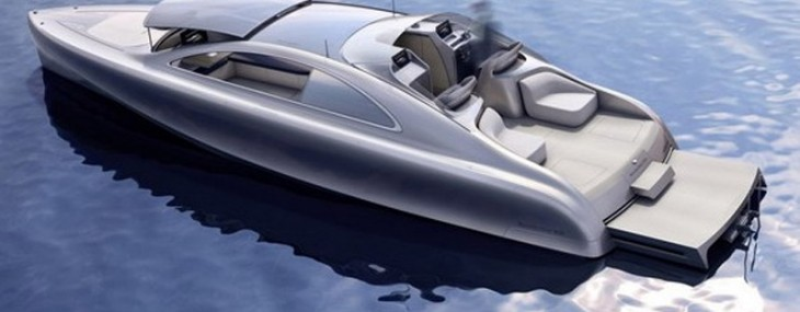 Arrow460 Quattroporte, and the boat itself is described as a, silver sea arrow