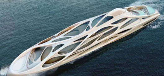 Zaha Hadid 128m Superyacht of the Future for Blohm + Voss