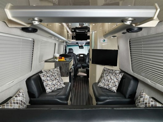 Airstream partners with Mercedes Benz to create a luxury touring coach
