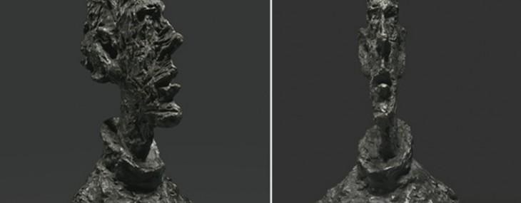 Alberto Giacometti's Grande Tête Mince Sculpture Fetches $50 Milllon
