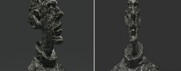 Alberto Giacometti's Grande Tête Mince Sold for More than $50 Million