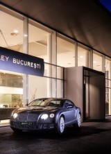 Bentley New Showroom in Bucharest – Brand's First Official Sales Point in Romania