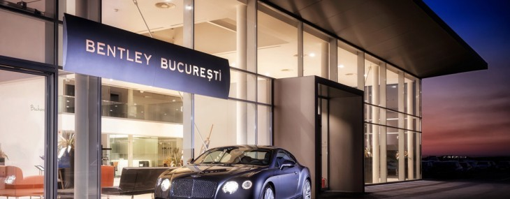 BENTLEY OPENS NEW SHOWROOM IN BUCHAREST