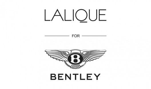 Lalique For Bentley Crystal Flying B Paperweight