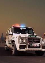 Brabus Mercedes-Benz AMG G63 – New Member of Dubai Police's Fleet