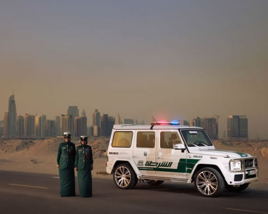 A 700HP Brabus G63 AMG is the latest to join Dubai Police's fleet of luxury cars
