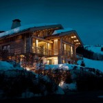 French Alps Mountain Chalet Cyanella