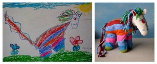 Let Child's Own Studio Transform Your Kid's Drawing Into a Unique Plush Toy