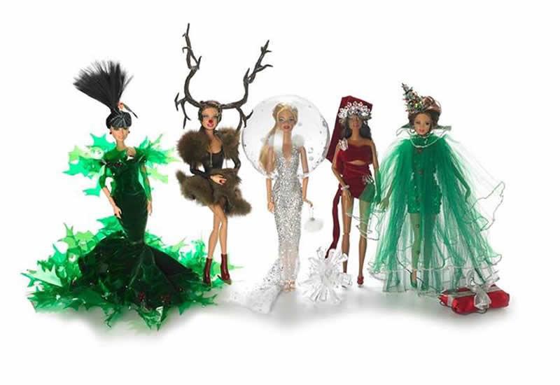 Barbie Gets A Stephen Jones Makeover This Christmas