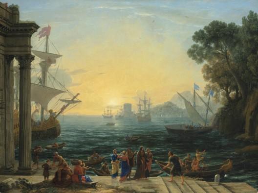 Claude Lorrain's Mediterranean Port at Sunrise Could Fetch $8 Million at Christie's