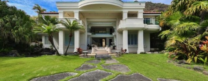 Hawaiian Oceanfront Diamond Head Road Estate on Sale