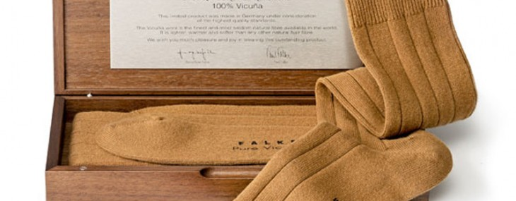 Using rare Vicuna wool Falke creates the world's most expensive socks