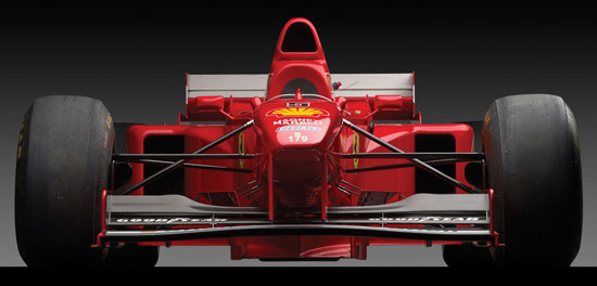 Schumacher's 1997 Ferrari F310 B at RM Auctions
