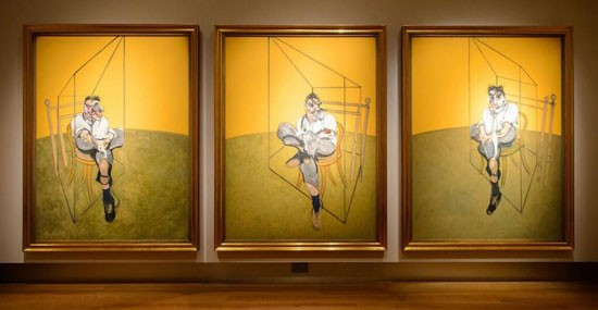 Francis-Bacon's-Three-Studies-of-Lucian-Freud