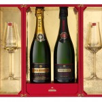 Exclusive Champagne Gift Box by Piper-Heidsieck and Baccarat