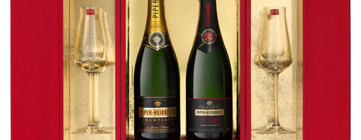 Piper-Heidsieck and Baccarat Team Up For Exclusive Champagne Gift Box