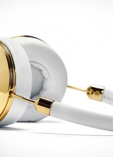Frends' Gold Layla Headphones for Stylish Girls