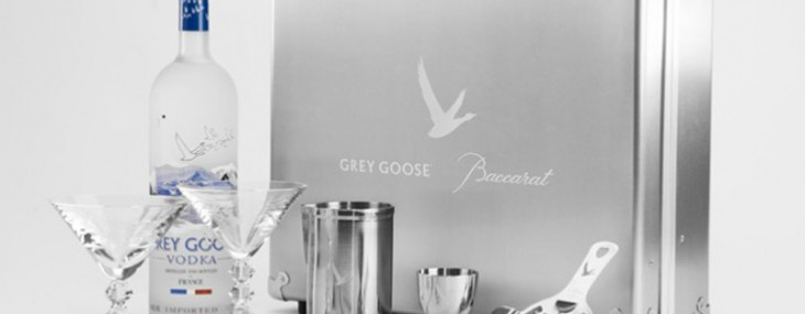 Grey Goose and Baccarat create a limited edition martini kit