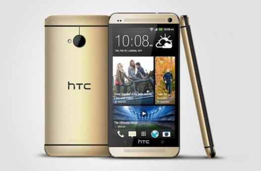 HTC One gold edition launches