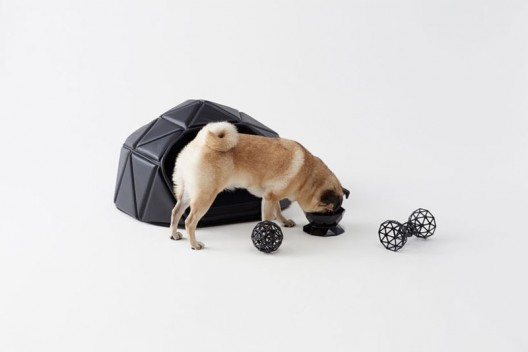 Eye-Catching Three-Piece Dog Accessory Collection from Nendo