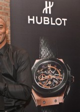Kobe Bryant Unveils Hublot King Power Black Mamba King Gold