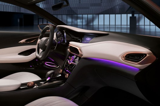 Infiniti Q30 Concept for Customers Who Desire to Disrupt Convention