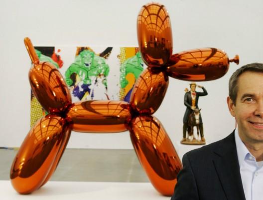 Jeff Koons' Balloon Dog Sculpture sells for $58.5 million the highest for a living artist