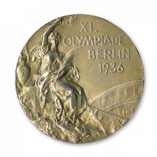 Jesse Owens' 1936 Gold Medal to be auctioned