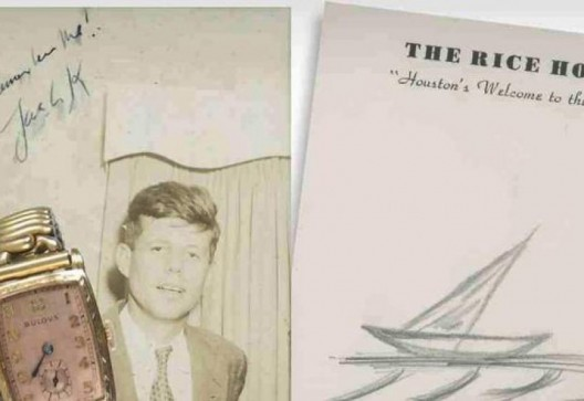 JFK's Last Sailboat Sketch Heads to Auction