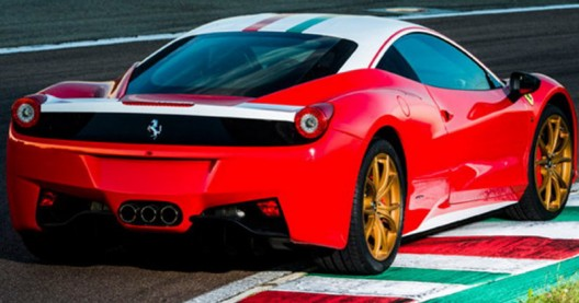 Ferrari 458 Italia Lauda Edition made in honor of the triple Formula 1 champion from Austria