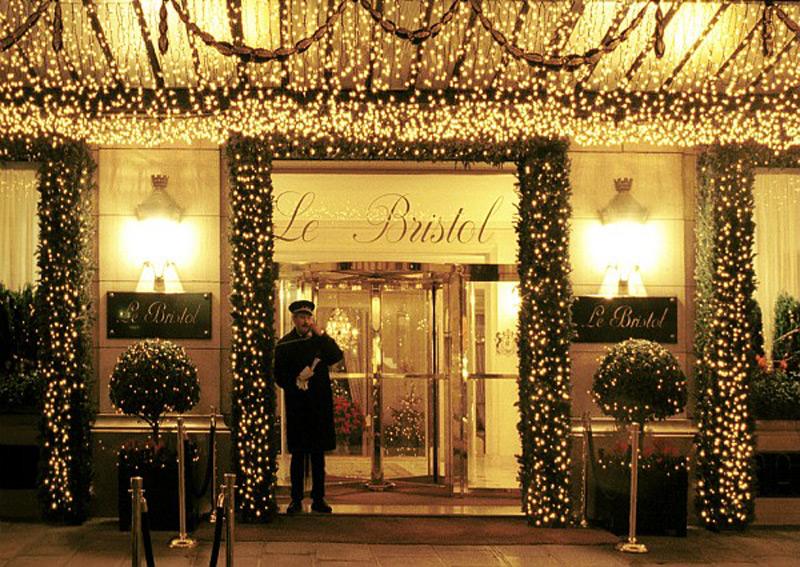 Parisian Hotel Le Bristol Awarded As Best Luxury Hotel In
