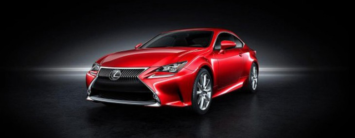 New Lexus RC Coupe Will Be Presented At Tokyo Motor Show