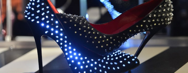 LED Studded Pumps By Cesare Paciotti Kicks Off The Festive Season