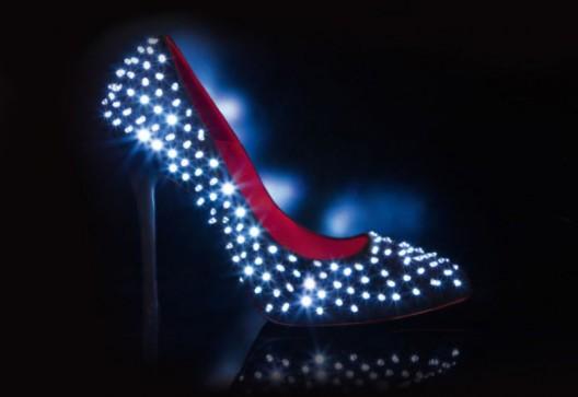 LED Studded Pumps By Cesare Paciotti Kicks Off The Festive Season
