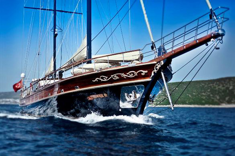 """Take a """"Blue Voyage"""" Through the Aegean and Ionian Seas Aboard a Handmade Gullet"""