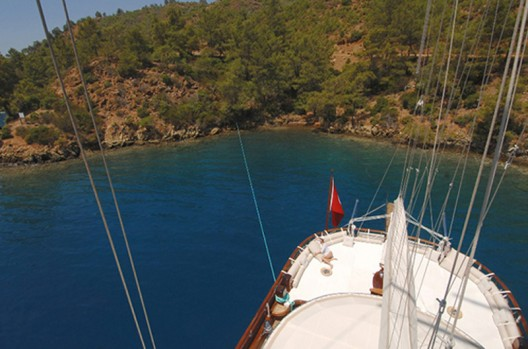 "Take a ""Blue Voyage"" Through the Aegean and Ionian Seas Aboard a Handmade Gullet"