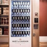 World's First Champagne Vending Machine by Moet & Chandon
