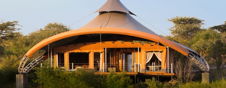 Richard Branson's Mahali Mzuri Safari Camp in Kenya Officialy Launched