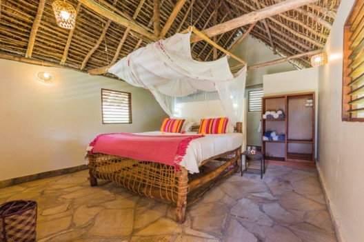 The Manta Resort at Pemba Island has an underwater room