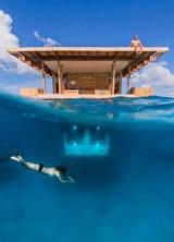 Sleep Beneath the Indian Ocean – Manta Resort Underwater Room