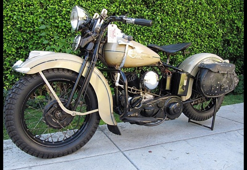 Steve McQueen's 1938 Harley-Davidson available at auction
