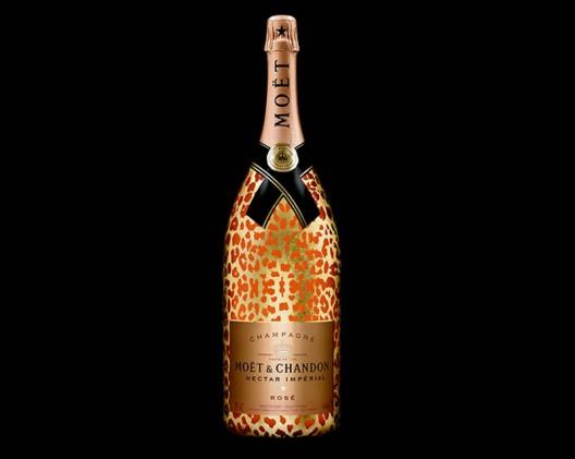 6-liter Moët & Chandon Nectar Impérial Rosé Leopard luxury edition launched by 2 Chainz