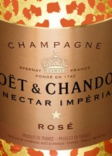 $5,000 Moët Nectar Impérial Rosé Leopard Luxury Edition