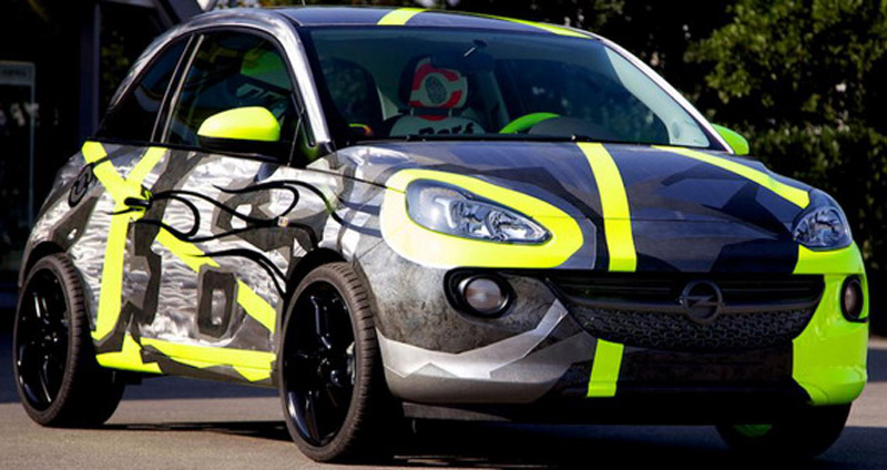 Opel Adam & Vale Designed By Valentino Rossi For Charity